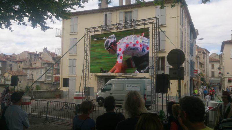 Location écran géant pour le tour de France 2017