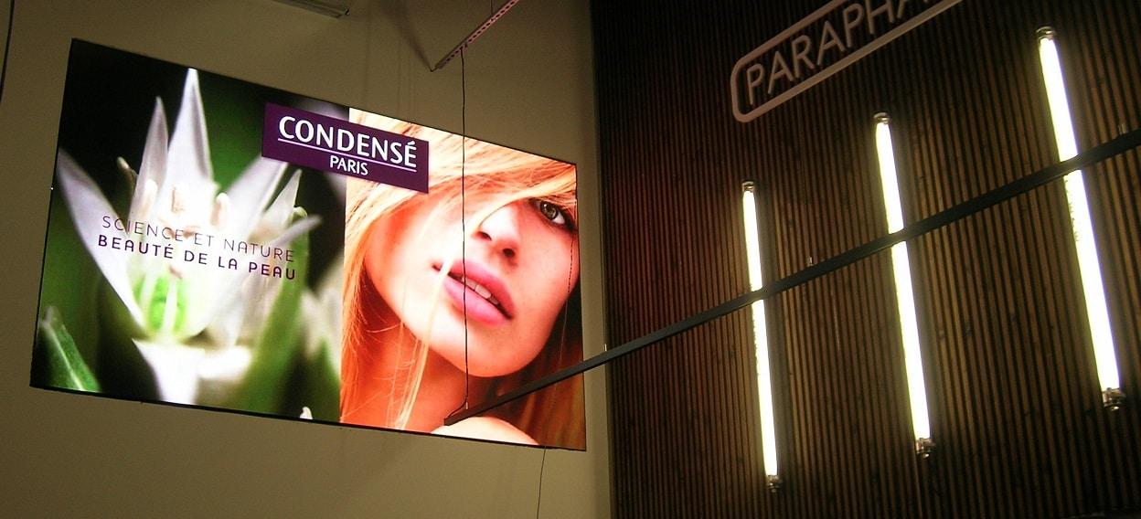 Ecran à LED intérieur pour Pharmacie